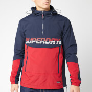 Superdry Men's Core Overhead Cagoule - Navy/Red