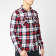 Superdry Men's Classic Lumberjack Shirt - White Check