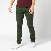 Superdry Men's Surplus Cargo Pants - Emerald Green