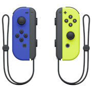 Nintendo Switch Blue Joy-Con (L) and Neon Yellow Joy-Con (R) Controller Set