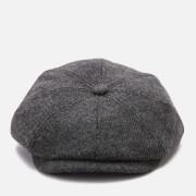 Ted Baker Men's Pallion Wool Baker Boy Cap - Charcoal