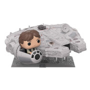 Star Wars Millennium Falcon with Han Solo EXC Pop! Deluxe Figure
