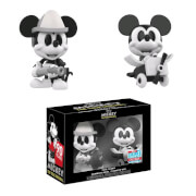 Disney Mickey Mouse Black and White NYCC 2018 2-Pack Mini Vinyl Figures