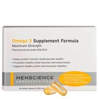 Menscience Omega 3 Supplements - 60 kapsler