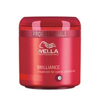 Masque cheveux épais colorés Wella Professionals Brilliance (150ml)