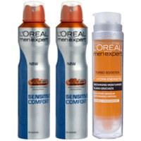Sensitive Comfort Bundle de L'Oreal Paris Men Expert