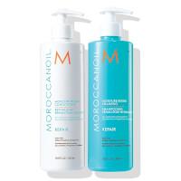 Moroccanoil Moisture Repair Shampoo & Conditioner Duo (2x500ml) (Worth £69.40)