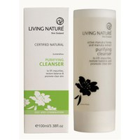 Living Nature Purifying Cleanser (100ml).