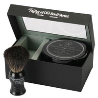 Taylor of Old Bond Street Jermyn Street Pure Badger Brush和Shaving Cream Bowl Set