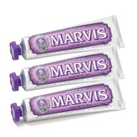 Marvis Jasmin Mint Toothpaste Triple Pack (3 x 75 ml)
