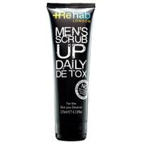 Gommage pour hommes Scrub Up Daily Detox par Rehab London (125ml)