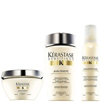 Kerastase Densifique Bain Densite (250ml) Masque Densite (200 ml) og Mousse Densimorphose (150ml)