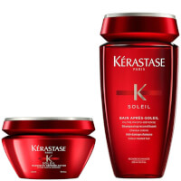 Kérastase Soleil Bain (250ml) and Masque UV Defense (200ml) Duo