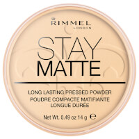 Rimmel Stay Matte Pressed Powder - Transparent(림멜 스테이 매트 프레스드 파우더 - 투명)