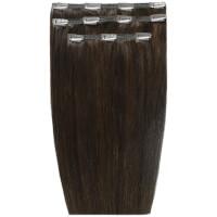 Extensions de cheveux à clip Deluxe 18 pouces de Beauty Works - Corbeau2