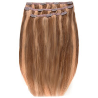 Extensiones de cabello Deluxe Clip-In de 45,7 cm de Beauty Works - Rubio Tanned 14/10/16
