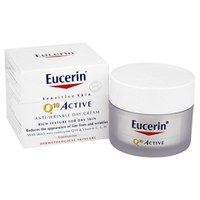 Eucerin® Sensitive Skin Q10 Active Crème de jour anti-rides peaux sensibles (50ml)