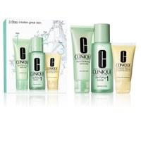 Clinique 3-Schritt Einführungsset für Hauttyp 1
