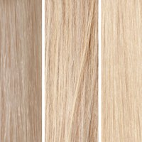 100% Remy Colour Swatch de Beauty Works- Blond clair