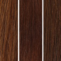 100% Remy Colour Swatch de Beauty Works- Chocolat