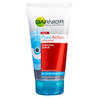 Pure Active Charcoal Scrub de Garnier (150 ml)