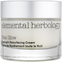 Crème de nuit créatrice d'éclat Vital Glow de Elemental Herbology(50ml)