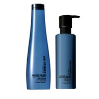Shu Uemura Art of Hair Muroto Volume Pure Lightness Shampoo (300 ml) og Balsam (250 ml)