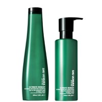 Shu Uemura Art of Hair Ultimate Remedy duo fortifiant - shampooing (300ml) et après-shampooing (250ml)