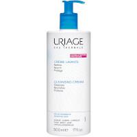Crème lavante sans savon Uriage pour visage, corps et cuir chevelu (500 ml)
