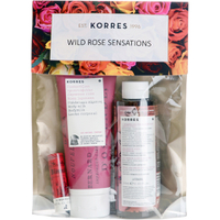 Kit Wild Rose Sensations de KORRES (Vale 26 £)