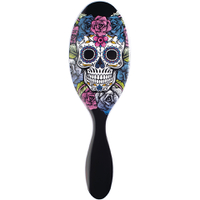 Wet Brush Sugar Skull - Purple Rose