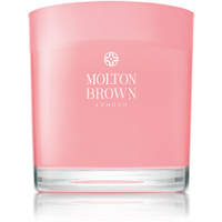 Bougie Molton Brown Three Wick Candle Rhubarbe et Rose  480g