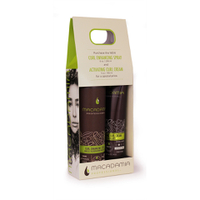 Macadamia It's a Curly World - Curl Enhancing Spray and Activating Curl Cream
