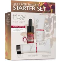 TrilogyDiscover Starter Set - Hagebuttefür normale / trockene Haut