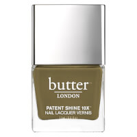butter LONDON Patent Shine 10X Nagellack 11ml - British Khaki
