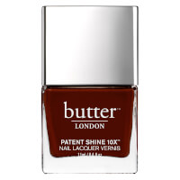 butter LONDON Patent Shine 10X Nail Lacquer 11 ml - Rather Red