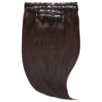 "Beauty Works Jen Atkin Invisi-Clip-In Hair Extensions 18"" - Raven 2"