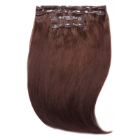 "Extensiones de Pelo Invisi-Clip-In 18"" Jen Atkin de Beauty Works - Rubio Miel 6/24 - Toffee Caliente 4"