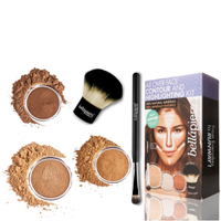 Kit Iluminador y Contour All Over Face de Bellapierre Cosmetics - Profundo