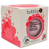 Bubble T Bath Fizzer - Hibiscus & Acai Berry Tea 180g