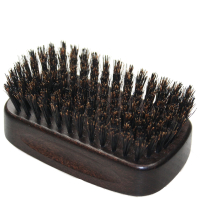 Denman Jack Dean Beech Wood Dark Finish Military Brush