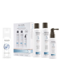Nioxin Hair System Kit 5 y Spray Espesante Surtido