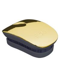 ikoo Pocket Detangling Hair Brush - Black/Soleil Metallic