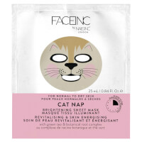 FACEINC by nails inc. Cat Nap Brightening Sheet Mask - Revitalising and Skin Energising