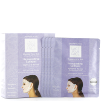 Dermovia LACE YOUR FACE Compression Facial Treatment Mask - Rejuvenating Collagen (4 Pack)