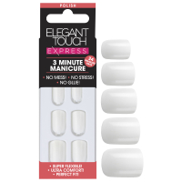 Elegant Touch Express Nails - Polished Brilliant White