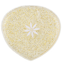 brushworks HD Miracle Silicone Shaped Sponge - Glitter