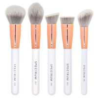 Spectrum Collections 5 Piece Marble Sculpt Brush Set - White