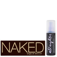 Urban Decay Naked Palette and Setting Spray Bundle