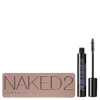 Urban Decay Naked 2 Palette and Mascara Bundle